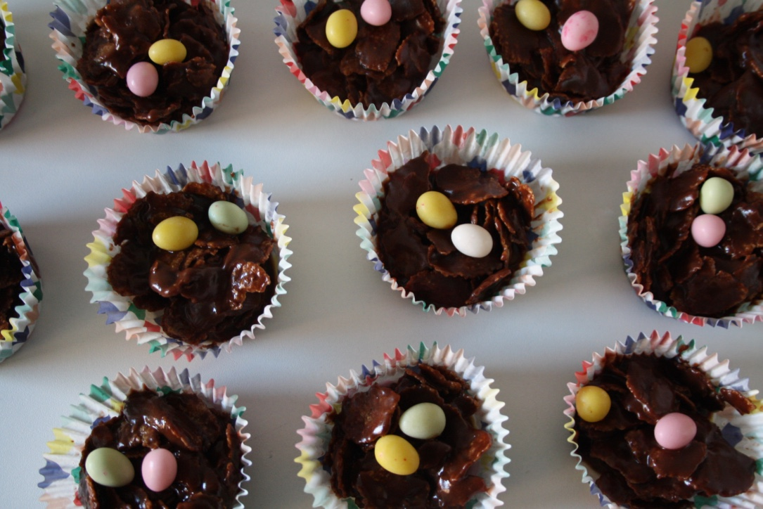Petits Nids Chocolat Pâques - Mathilde et Gourmandises5