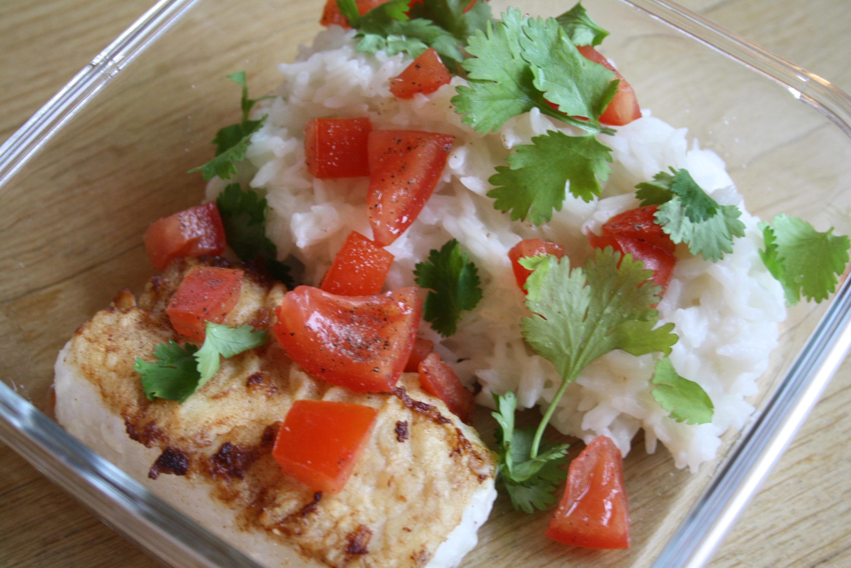 Cabillaud riz coco - Mathilde et Gourmandises