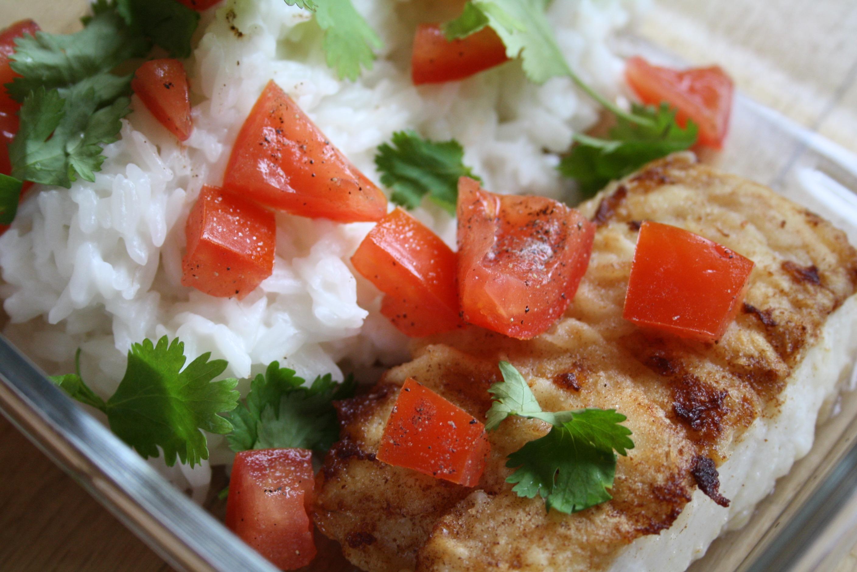 Cabillaud riz coco - Mathilde et Gourmandises2