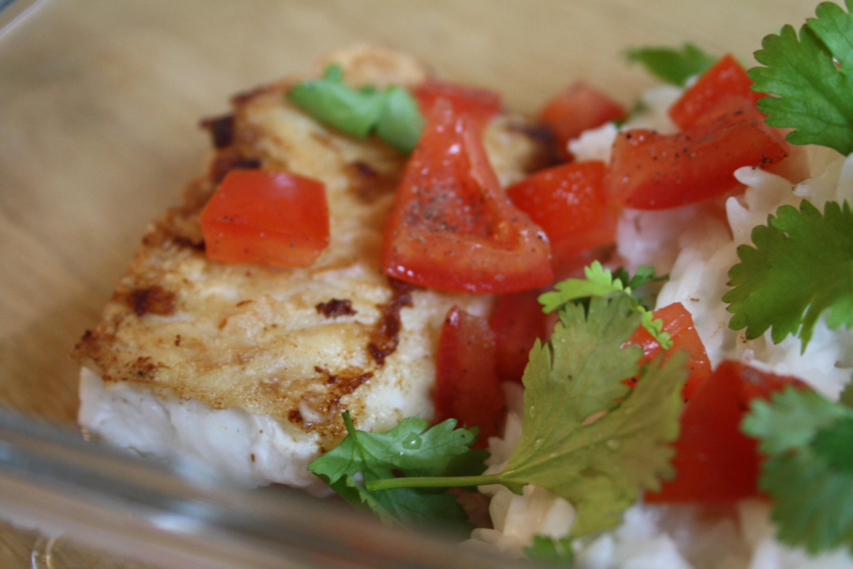 Cabillaud riz coco - Mathilde et Gourmandises4